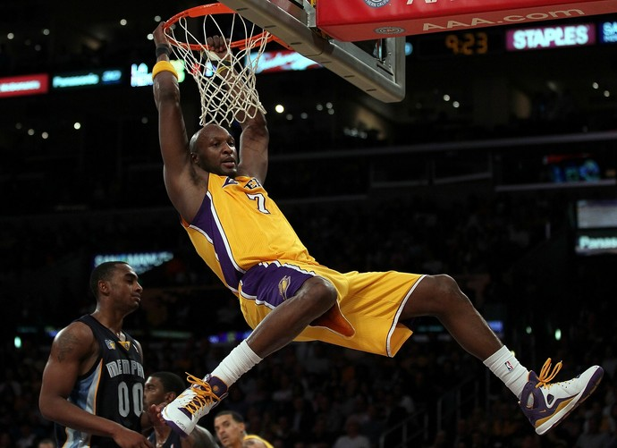 Lamar Odom ex-jogador NBA Los Angeles Lakers (Foto: Jeff Gross / Getty Images)
