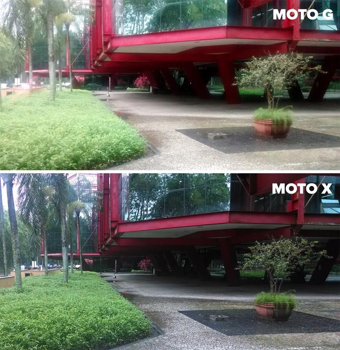 Fotos tiradas com os smartphones Moto G e Moto X, da Motorola (Foto: Isadora Díaz/TechTudo)