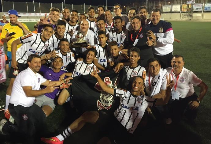 Corinthians campeão Mundial de Clubes Sub-17 (Foto: Cassio Barco)