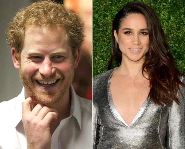 Príncipe Harry denuncia assédio à namorada