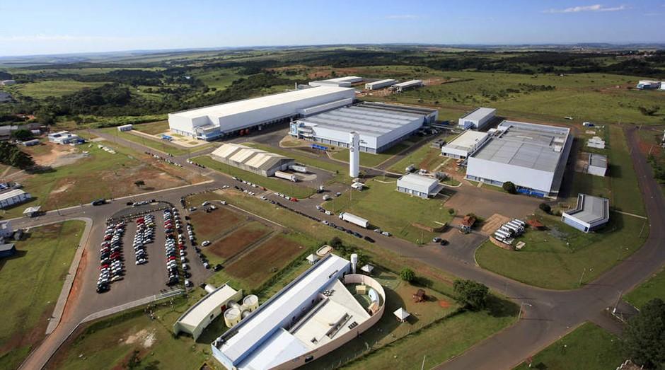 Fábrica da Hypermarcas: empresa pode ser vendida (Foto: Divulgação)