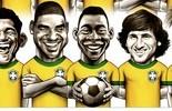 Baixe o wallpaper e monte a seleção dos sonhos do Brasil (Globoesporte.com)