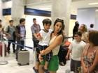 Ivete Sangalo viaja com o filho, Marcelo