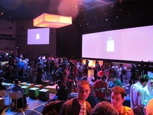 Lançamento do Windows 8 em São Paulo (Foto: Gustavo Petró/G1)