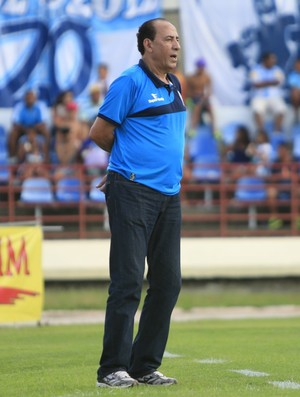Nedo Xavier, técnico do CSA (Foto: Ailton Cruz/ Gazeta de Alagoas)
