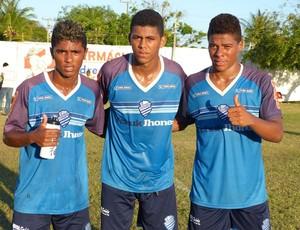 Parrudo, Pilar e Robério são destaques da base azulina (Foto: Divulgação /CSA)