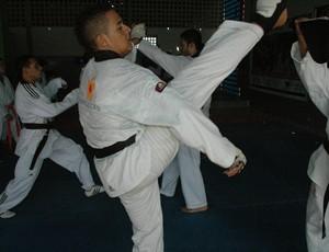 Taekwondo, Santa Rita, Alpargatas (Foto: Larissa Keren / GloboEsporte.com/pb)