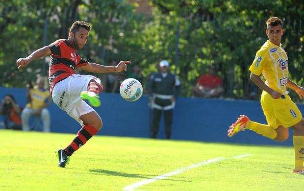 Ibson na partida do Flamengo contra o Madureira (Foto: Alexandre Vidal / Fla Imagem)