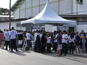 Campus do IFPB em João Pessoa registrou o maior número de faltosos, segundo Compec (Foto: Divulgação/Ascom IFPB)