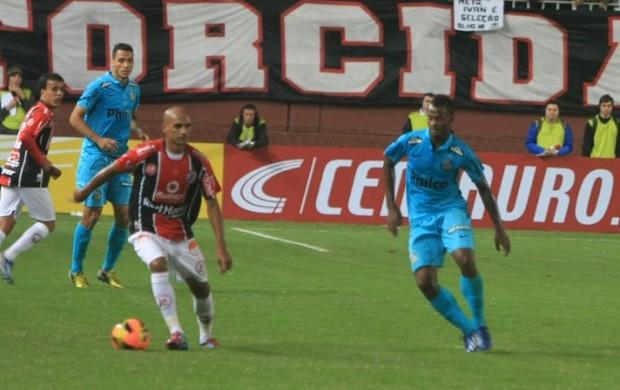 Meia Marcelo Costa Joinville contra Santos (Foto: Divulgação Joinville)
