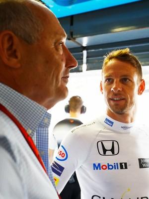 Ron Dennis foi crucial para decisão de Jenson Button (Foto: Divulgação)
