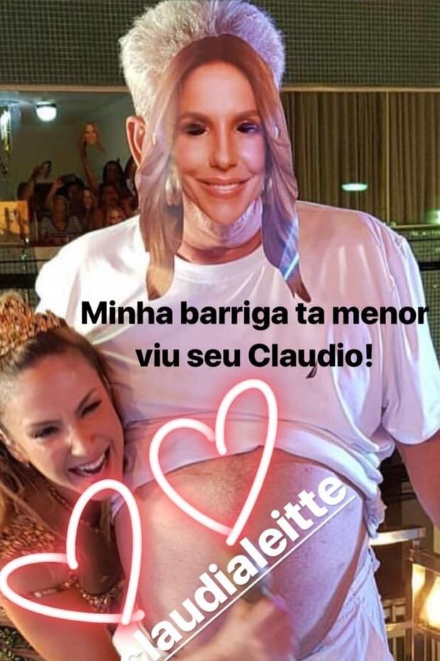 Ivete Sangalo responde a Claudia Leitte (Foto: Reprodução/Instagram)