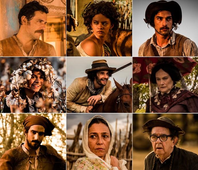 Elenco de 'Velho CHico' tem nomes fortes: talentos consagrados e novas apostas (Foto: Caiuá Franco/ Globo)