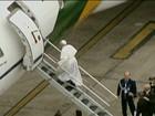 Papa embarca para Aparecida, em SP, para celebrar missa nesta quarta