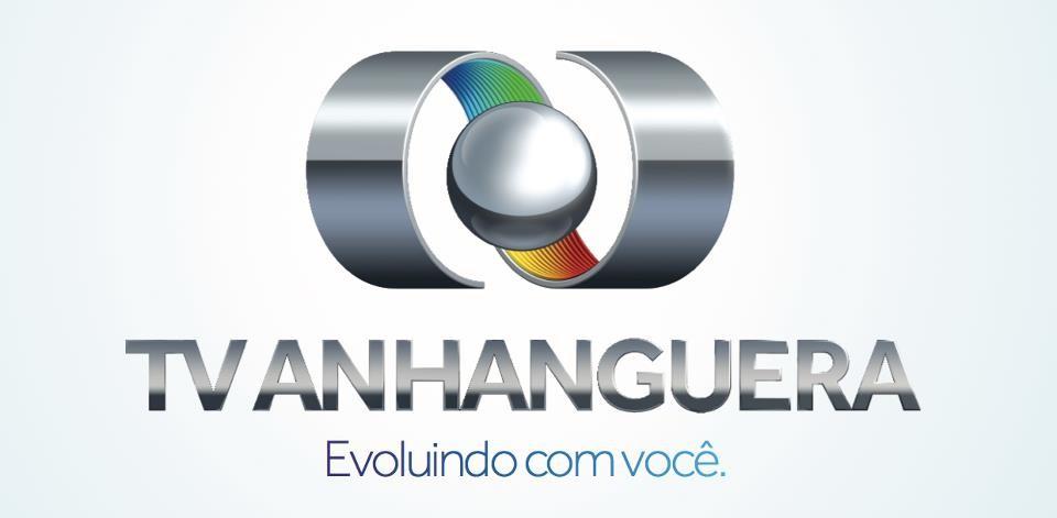 Nova Logomarca da TV Anhanguera (Foto: Produção TV Anhanguera)