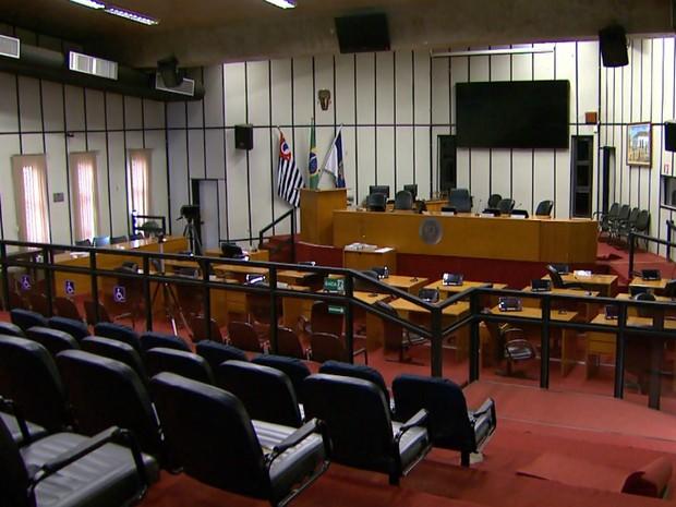 Processo de cassação será julgado no plenário da Câmara de Ribeirão Preto (Foto: Reprodução/EPTV)