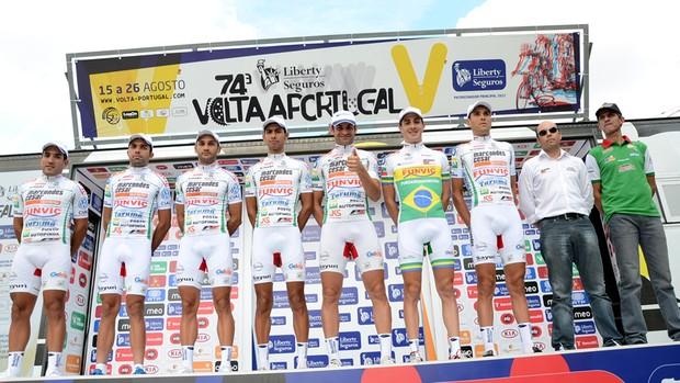 Ciclismo Pindamonhangaba Pinda Portugal (Foto: Luis Claudio Antunes/PortalR3)