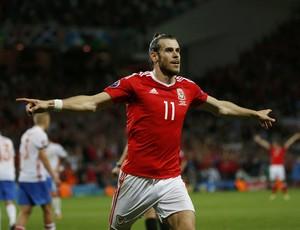 Gareth Bale País de Gales Rússia Eurocopa (Foto: Reuters)