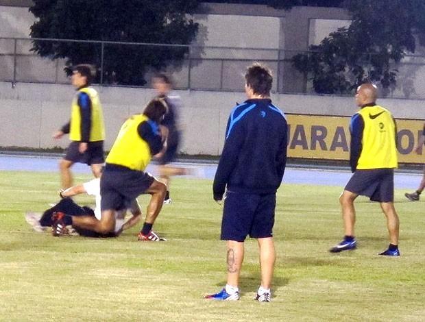 Pablo Mouche atacante Boca Juniors (Foto: André Casado / Globoesporte.com)