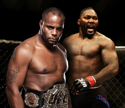 Carrossel Daniel Cormier x Anthony Johnson (Foto: Infoesporte)