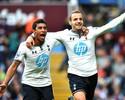 Soldado desencanta após passe de Paulinho, e Tottenham volta a vencer
