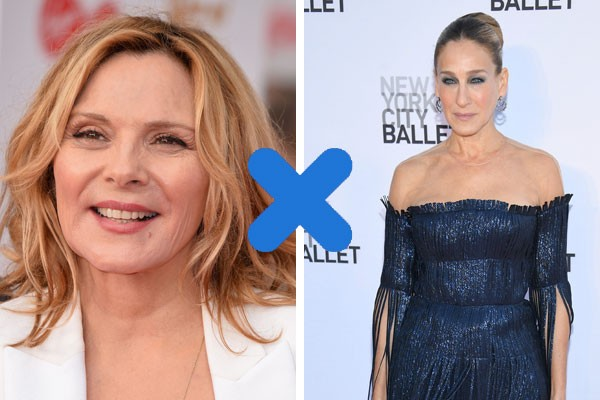 Kim Cattrall X Sarah Jessica Parker (Foto: Getty Images)