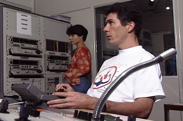José Paulo Frontarolli entrou na TV Rio Sul em 1990 (Foto: Arquivo/ TV Rio Sul)