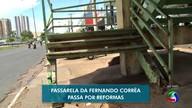 Obras em passarela de Cuiabá ainda não começaram