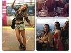 Ex-BBB Adriana anda de metrô pela primeira vez: 'Deslumbrada'