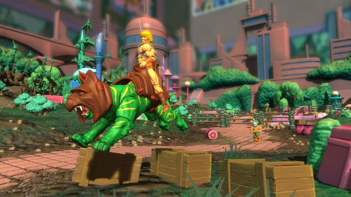 He-Man e o Gato Guerreiro (Foto: Divulgação/Ubisoft)
