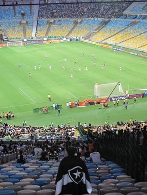 Torcida Botafogo x Palmeiras (Foto: André Casado)