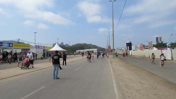 Abertura dos portões no 3º dia do Rock in Rio (Foto: johnson parraguez-photorionews)