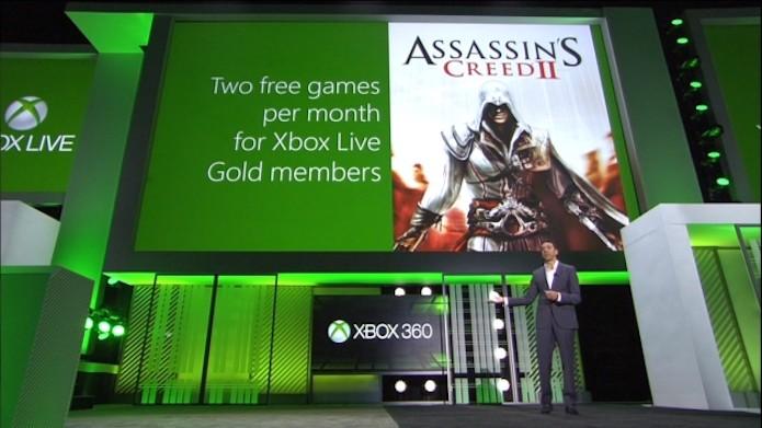 Games with Gold foi destaque da E3 de 2013 (Foto: Divulgação/Microsoft)