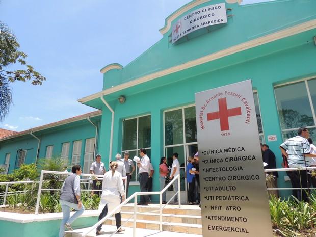 HOSPITAL ARNALDO PEZZUTTI (Foto: Pedro Carlos Leite/G1)