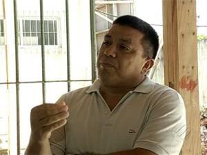 Antônio Paixão, diretor da escola, diz que a Seduc não estaria repassando as verbas destinadas à obra para a empresa responsável pela reforma. (Foto: Reprodução/TV Liberal)
