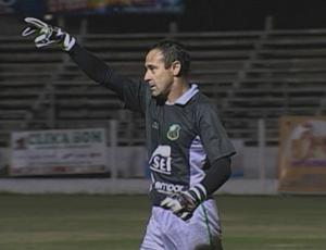 Goleiro Luciano do São Paulo de Rio Grande (Foto: Reprodução/ RBS TV)