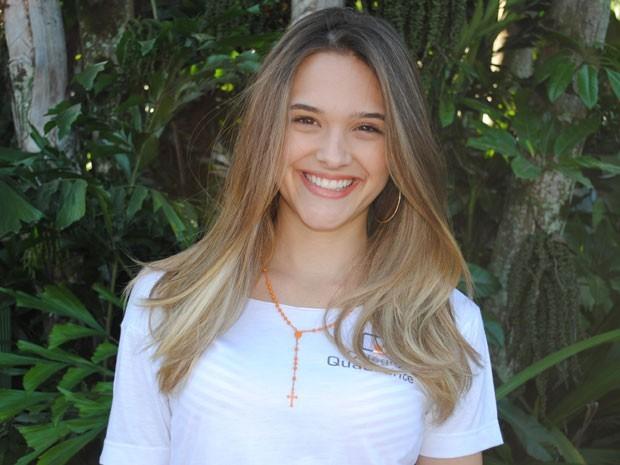 Juliana Paiva como Fatinha, em Malhação (Foto: Malhação/TV Globo)