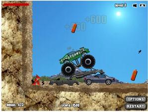 monster truck demolidor