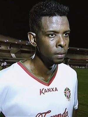 Moacir - Boa Esporte (Foto: Reprodução Premiere FC)