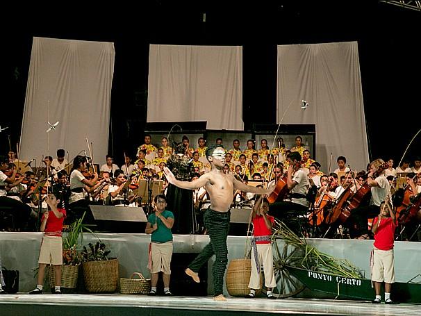 Criança Esperança: Instituto Moinho Cultural (Foto: Divulgação)