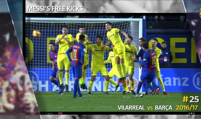 Messi gol falta Barcelona