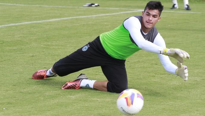 Paulinho, goleiro do Goiás (Foto: Rosiron Rodrigues/Goiás E.C.)