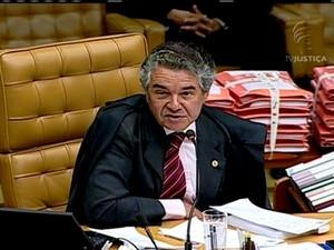GNews - Ministro Marco Aurélio Mello (Foto: GloboNews)