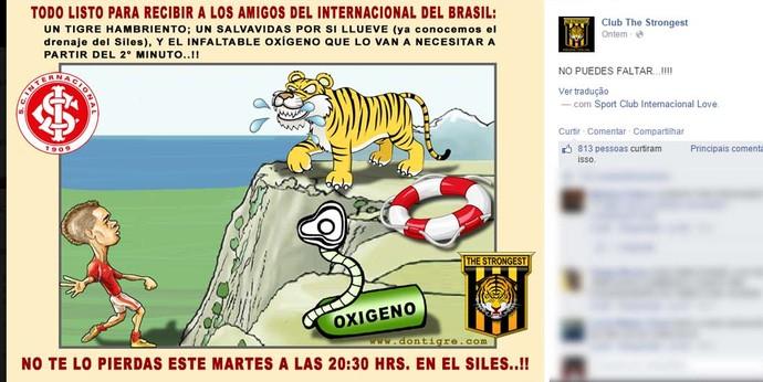 The Strongest Inter Libertadores (Foto: Reprodução)
