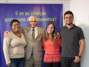 Daniela Motta, Manoel Horácio, presidente do Instituto TIM, Karolynne Barrozo e Robson Lopes (Foto: Instituto Tim/Divulgação)