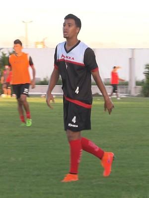 Téssio, lateral do Campinense (Foto: Reprodução / TV Paraíba)