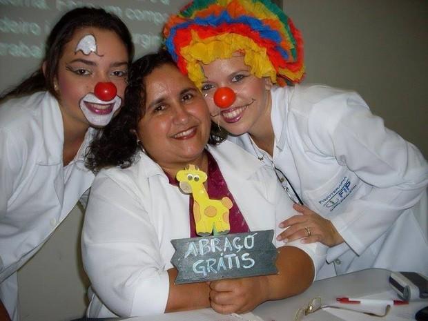 Doutores da Alegria da Fip integram projeto de iniciação científica sobre humanização na saúde (Foto: Doutores Sorriso/Arquivo pessoal)