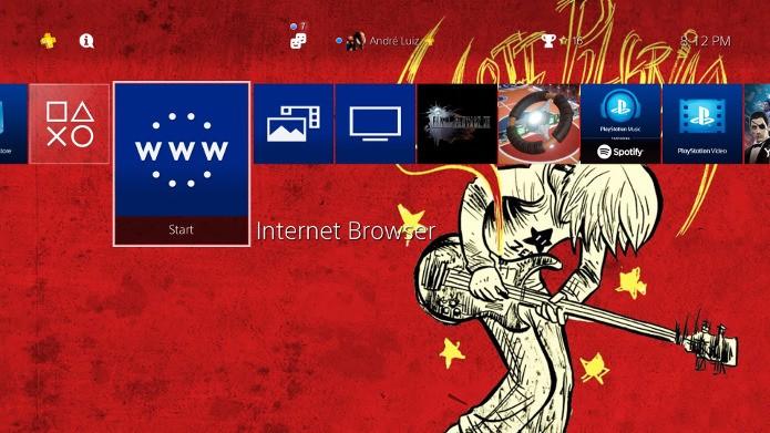 Personalize a tela inicial do seu PlayStation 4 (Foto: Reprodução/André Mello)