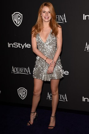 Bella Thorne em festa em Los Angeles, nos Estados Unidos (Foto: Jason Merritt/ Getty Images/ AFP)