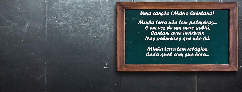 Assista à teleaula que compõe esta matéria especial para saber mais sobre Mário Quintana e o final do poema escrito aqui do ladinho. :) (Telecurso)